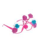 Карнавальные очки «Розочки», цвета МИКС