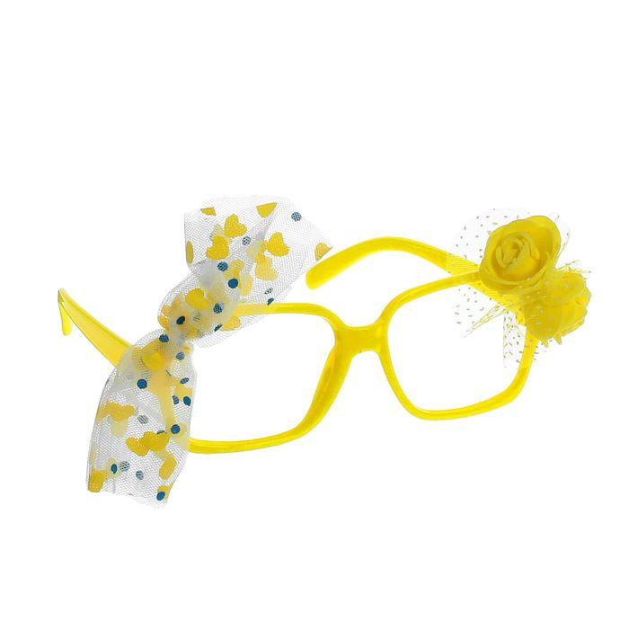 """Карнавальные очки """"Цветочек"""""""