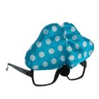 Карнавальные очки «Бантик», цвет голубой