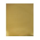 Картон цветной Металлизированный, 650 х 500 мм, Sadipal, 1 лист, 225 г/м2, золото