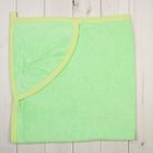 Полотенце-уголок, размер 80х80 см, цвет зелёный ЯВ108248
