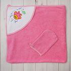 Комплект для купания (2 предмета), цвет розовый ЯВ112279
