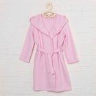 Халат для девочки, рост 104 см, цвет розовый ЯВ123101