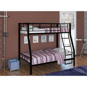 Кровать двухъярусная RedFord 201, цвет чёрный