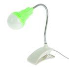"Лампа на прищепке LED ""Лампочка"" USB провод МИКС 13х9х5 см"