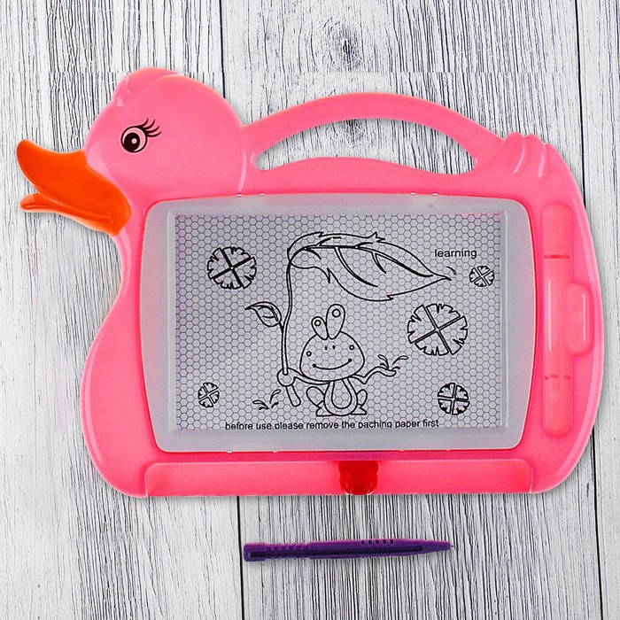 "The Board is magnetic ""quack-Quack"" black baby, MIX color"