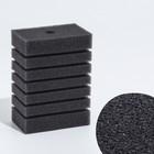 Губка прямоугольная для фильтра турбо №12, 14х10х6 см