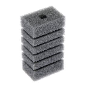 Rectangular sponge filter turbo No. 18, 6,8h11,4x4,6 cm