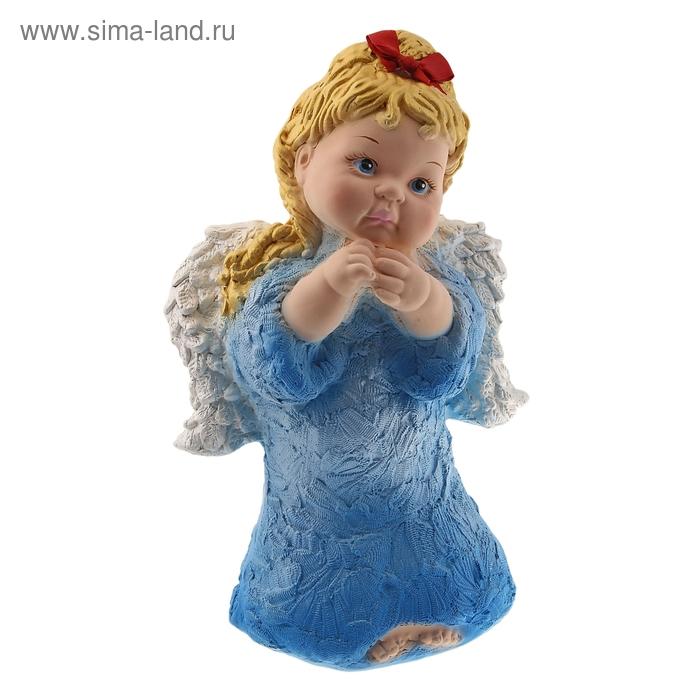 "Статуэтка ""Ангел Мария"" голубой"