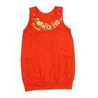Сарафан для девочки, рост 116 см, цвет оранжевый 38546