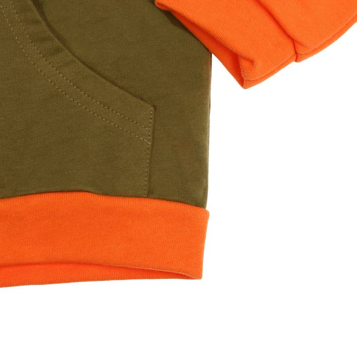 Джемпер для мальчика, рост 110 см, цвет хаки