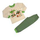 Пижама для мальчика, рост 104 см, цвет салатовый 41901