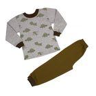 Пижама для мальчика, рост 110 см, цвет серый