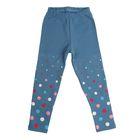 Легинсы для девочки, рост 104 см, цвет голубой 75746