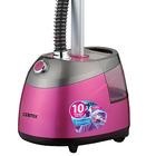 Отпариватель Centek CT-2379, напольный, 2200 Вт, 2500 мл, 40 г/мин, шнур 1.35 м, розовый - фото 897676