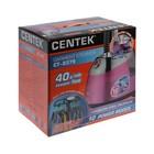 Отпариватель Centek CT-2379, напольный, 2200 Вт, 2500 мл, 40 г/мин, шнур 1.35 м, розовый - фото 897682