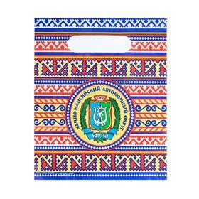 Пакет подарочный «ХМАО. Орнаментальный» Ош