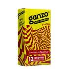 Презервативы «Ganzo» Extase, ребристые, 12 шт