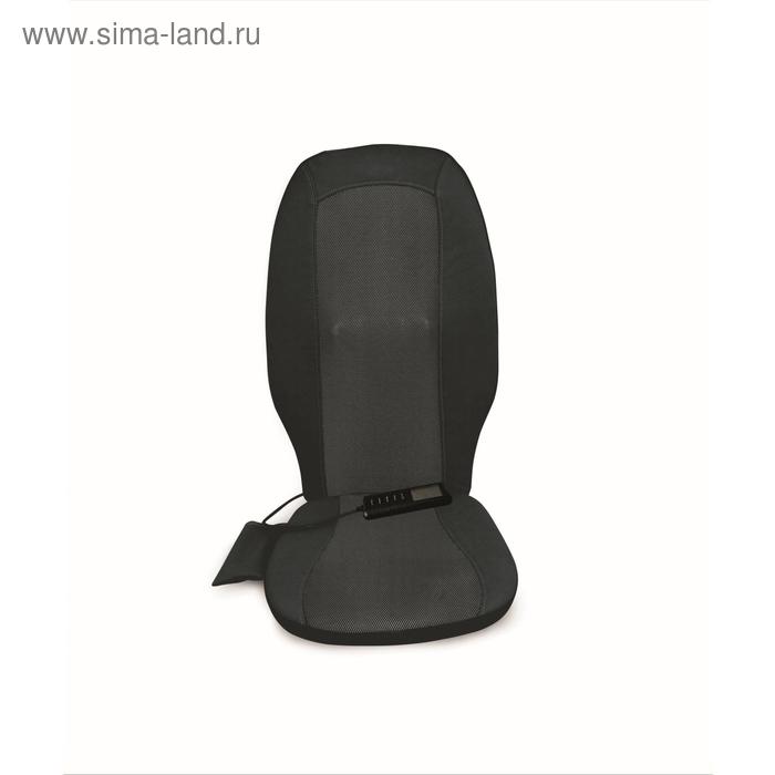 Роликовая массажная накидка шиацу, чёрная