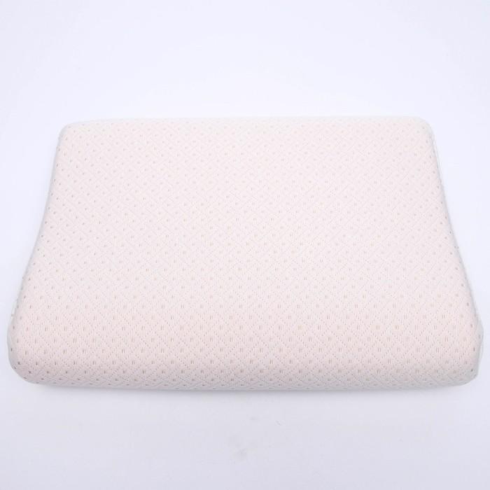 Подушка ортопедическая НТ-ПС-06, с эффектом памяти, размер 48 x 35 x 10/7,5 см - фото 1701936