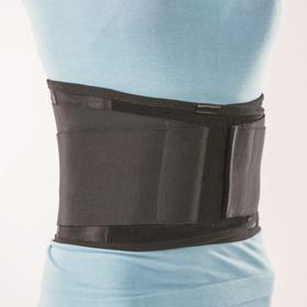 Anti-radiculitis corset NT-R-022, rigid fixation, size L, black.