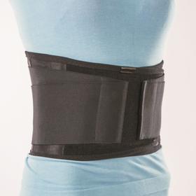 Anti-radiculitis corset NT-R-022, rigid fixation, size XL, black.