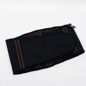 Корсет поясничный НТ-Р-027, жёсткая фиксация, размер L, цвет чёрный