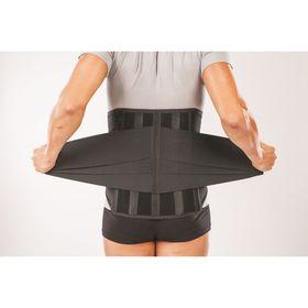 Anti-radiculite corset NT-R-030, reinforced, size L, black.