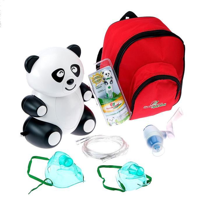 """Ингалятор(небулайзер) компрессорный """"Панда"""" с сумкой и термометром в комплекте"""