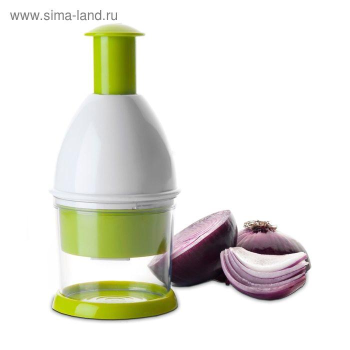 Измельчитель для овощей, пластик, нержавеющая сталь