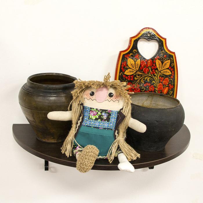 """Кукла текстильная """"Баба Яга костяная нога"""""""