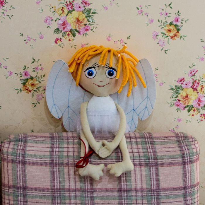 "Кукла текстильная ""Мой ангел"""