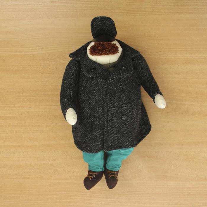 """Кукла текстильная """"Генерал"""""""