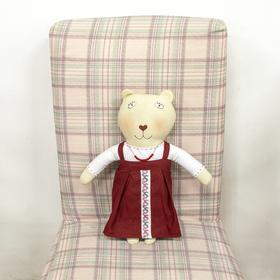 Кукла текстильная 'Медведица Олеся' Ош
