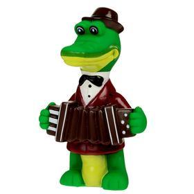 Игрушка для ванной «Крокодил Гена» в сетке