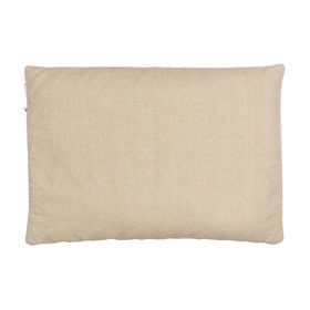 Подушка 50х70 с лузгой гречихи и лавандой, лен