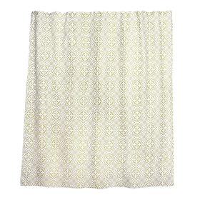 Штора для ванной комнаты тканевая WESS, 180×200 см Fudjeira