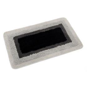 Коврик для ванной, комнаты 50х80 см Belorr black