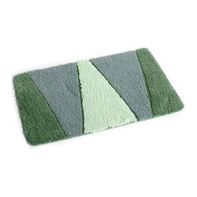 Коврик для ванной, комнаты 50x80 см Rainbow green