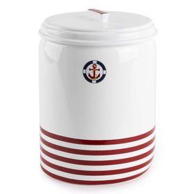 Ведро для мусора Maritime red, 2,8 л