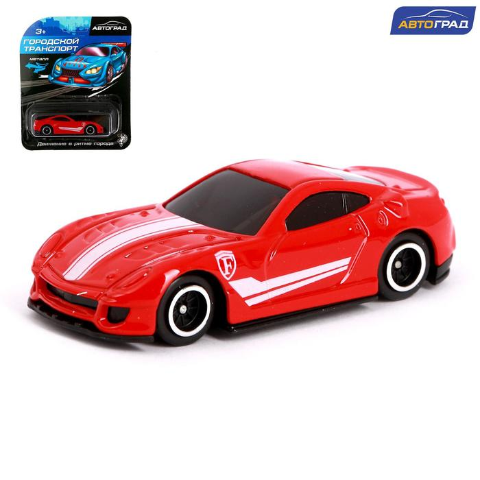 Машина металлическая Hot Cars, масштаб 1:64, МИКС - фото 105654624