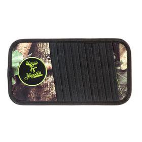 Органайзер на козырёк для CD 'Зверобой' ZV/ORG-010 S, брезентовая ткань + экокожа, 30х15 см, расцветка 'летний камуфляж' Ош