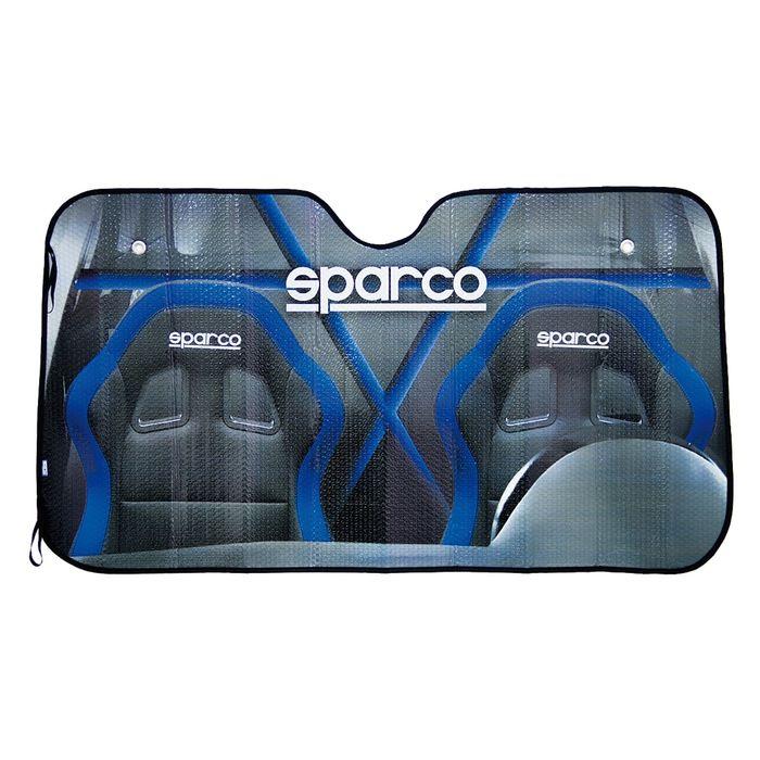 Экран солнцезащитный SPARCO SPC/SUN-100, фирменный принт на одной стороне, светоотражающий, (S)
