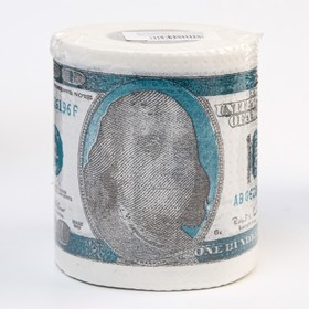 """Туалетная бумага 100 долларов"""""""