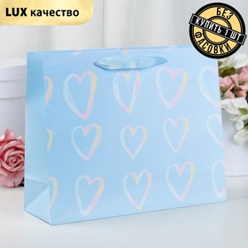 The package laminated Hearts, Lux, 32 x 10 x 26 cm