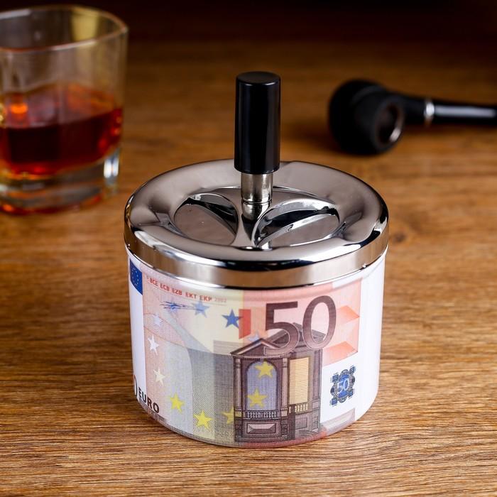 "Пепельница бездымная ""50 Евро"""