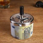 """Ashtray smokeless """"200 Euro"""", 9x12 cm"""
