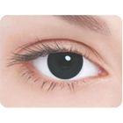 Карнавальные контактные линзы Adria Crazy - Черная радужка, в наборе 1шт