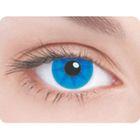 Карнавальные контактные линзы Adria Crazy - Синее колесо, в наборе 1шт