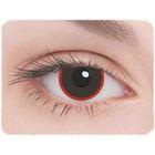 Карнавальные контактные линзы Adria Crazy - Демон, в наборе 1шт
